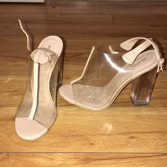 Aldo Shoes - Aldo Clear heels